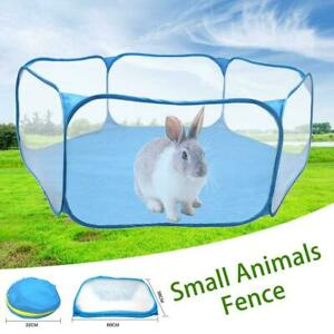 Folding-Small-Animals-Cage-Tent-Yard-Fence-Transparent-Pet-Playpen-Breathable