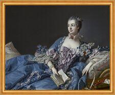 Madame de Pompadour Jeanne-Antoinette Poisson Francois Boucher Kleid B A2 01861