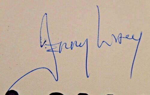 1969 Woody Allen Anthony Roberts Jerry Lacy Signed Playbill JSA//PSA Guarantee