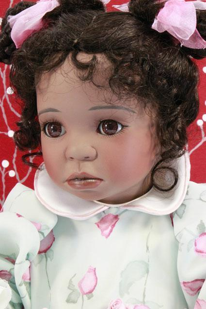 Maisie - Porzellan Puppe von Celia Dolls, Limitierte Auflage