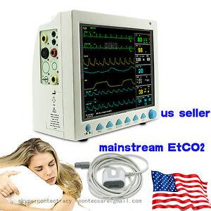 12-Inch-ICU-CCU-Monitors-Patient-Monitor-NIBP-SPO2-ECG-TEMP-RESP-PR-free-EtCo2