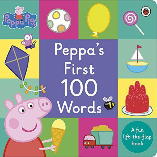 Peppa Pig: Peppa's First 100 Words by , NEW Book, FREE & Fast Delivery, (Board b