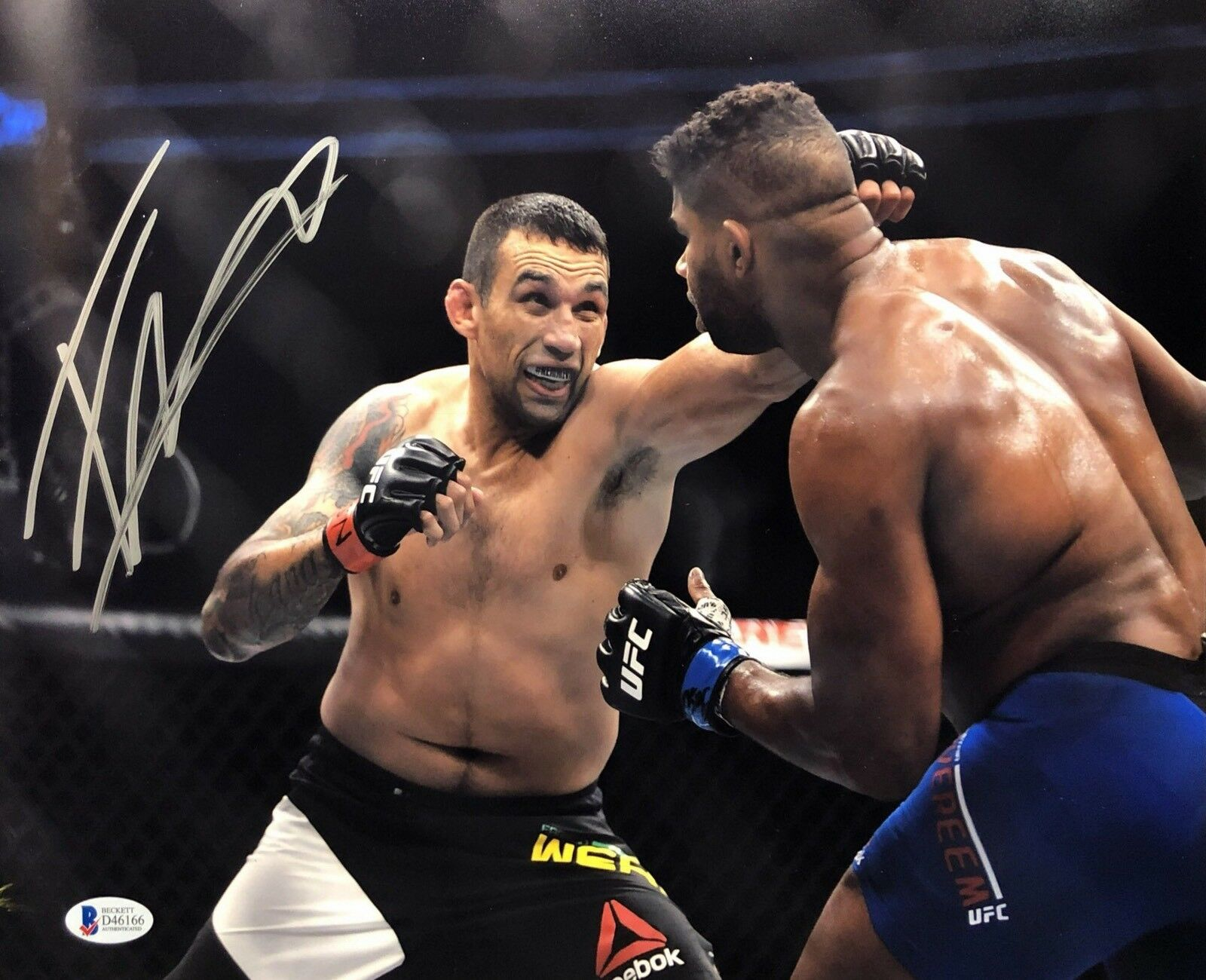 Fabricio Werdum Signed 11x14 Photo *MMA *UFC BAS Beckett D46166