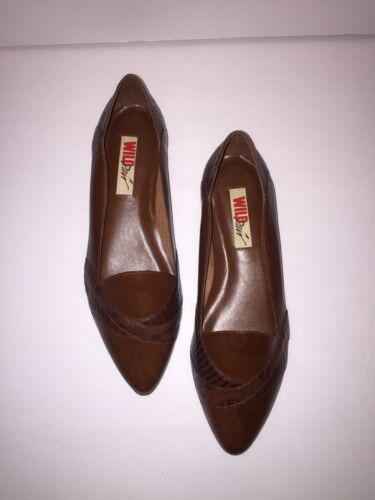 Vintage Wild Pair Leather Shoes Women's Size 9