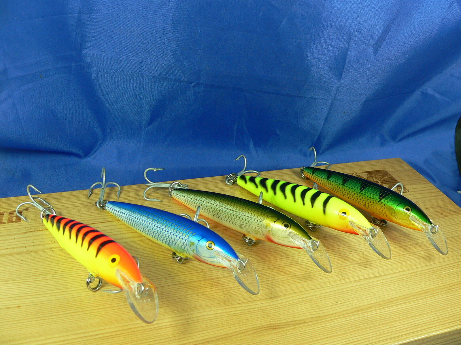 5 Rapala Magnum Floating Rare colour as in photo HT,YT,P,BSH,RFSH 11cm 15gr F1