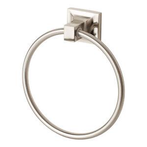 New Towel Ring Bathroom Hardware Bath Accessories Holder Hanger Brushed Nickel Ebay