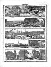 Lunéville Bataille de la Mortagne la Guinguette Casemate Feldgrau  1915 WWI