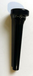KELLY-7C-TRUMPET-MOUTHPIECE-NEW-PLASTIC-BLACK
