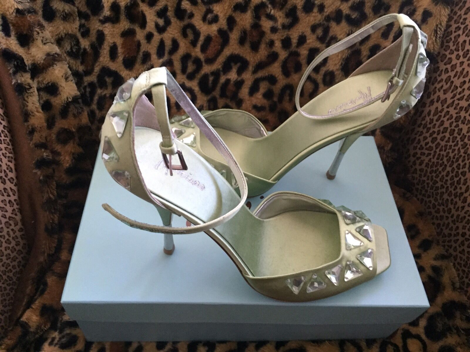 Nwt Marciano Pmjudy Satin Shoes 10