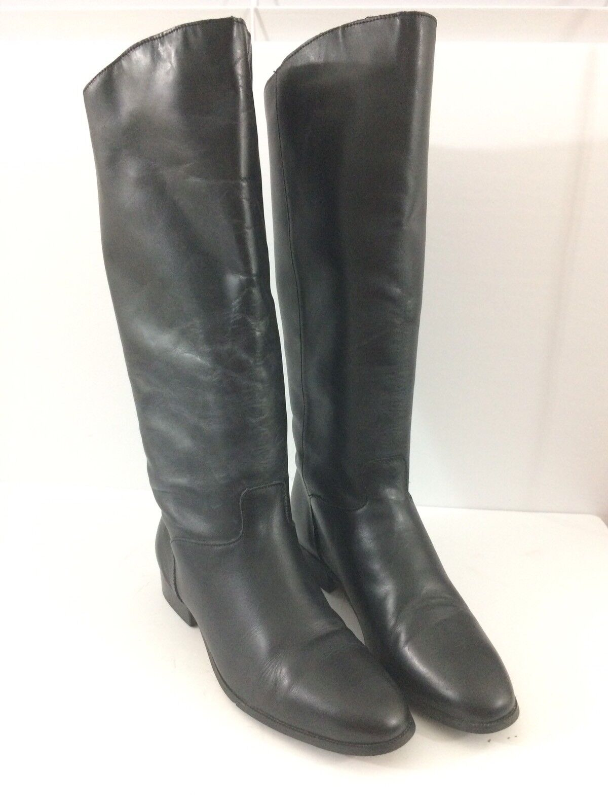 Nauralizer Womens Boots 7.5 M Black Knee Boots Casual Everyday Pull on