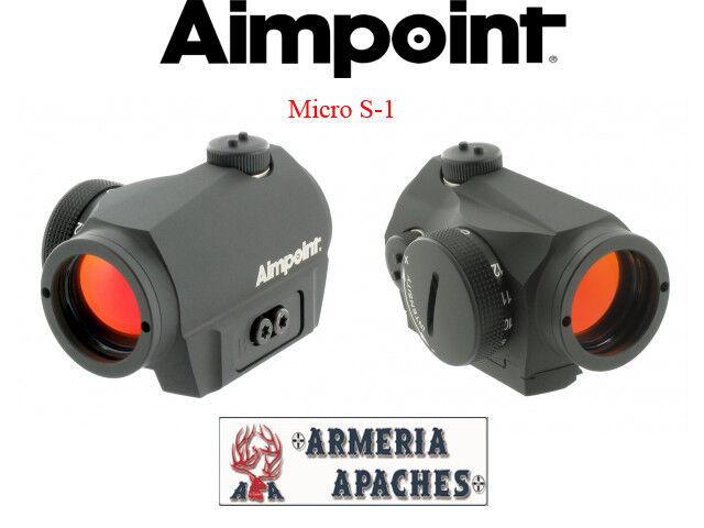 Punto rojo rojo Dot mirino Aimpoint Micro S1