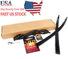 USA Sell 50IB Black Archery Recurve Bow American Hunting Bows Arrow Sport