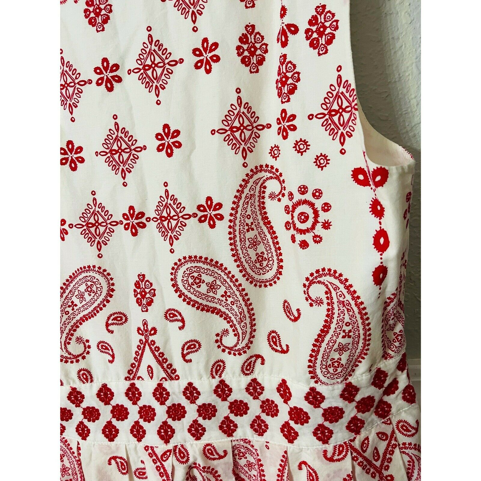 talbots embroidered dress - image 3