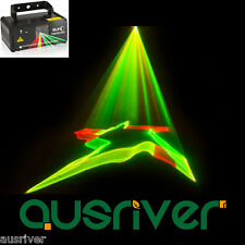 New SUNY 3D Gobos Laser Lighting Disco/Bar/Party Show Lights Sound Active
