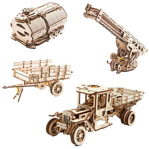 Ugears Truck Sparpaket (Truck + Erweiterungsse<wbr/>t)