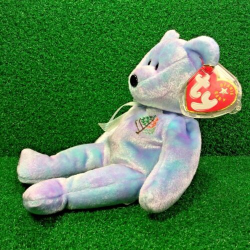 NEW Ty Beanie Baby Issy The Bear LOS ANGELES Four Seasons Hotel Exclusive MWMT
