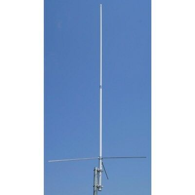 Tram Base Antenna 2-Section Pole Dual-Band Fiberglass Construction Radio 8 ft.