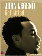 John Legend - Get Lifted Piano Vocal Guitar Songbook Song Book Paperback