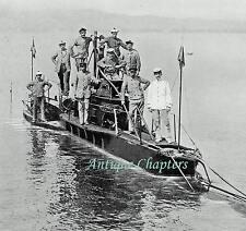 French Naiade Class Q22 Submarine Dorade Sous-marin Français 1909 Photo Article