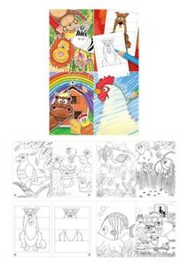 12|24|48|96|192 Malbuch ausmalen Heft Mitgebsel Malen Mitgebsel Schule Kindergar