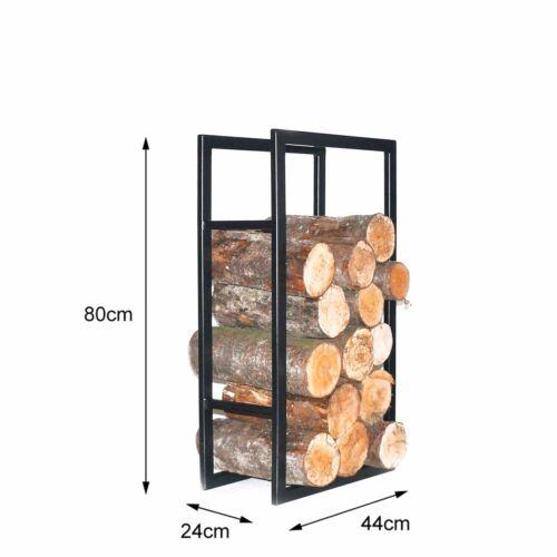 Bois de cheminée support bois de cheminée support bois de cheminée étagère bois de chauffage étagère hauteur 80,100,118cm