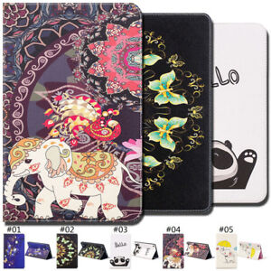 Computer & Office Luxury Pu Leather Cover Case For Samsung Galaxy Tab E 8.0 T375 T377 Cute Wallet Card Slot Flip Stand Funda Smart Magnetic Cover Pretty And Colorful