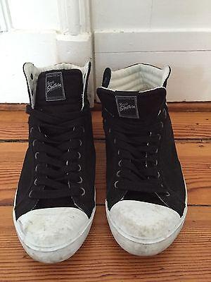 RUSSEL Sneaker Schuhe Hi schwarz Gr. 44,5 US 11