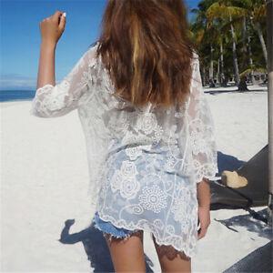 Women-Sexy-Floral-Loose-Shawl-Kimono-Cardigan-Boho-Lace-Jacket-Blouse-Tops-IO