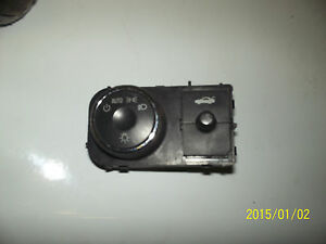 06 07 08 chevrolet impala head light switch with panel dimmer trunk release ebay. Black Bedroom Furniture Sets. Home Design Ideas