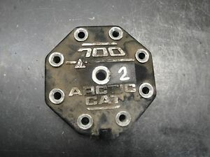99 1999 ARCTIC CAT 700 TWIN SNOWMOBILE ENGINE MOTOR CYLINDER HEAD GUARD 2