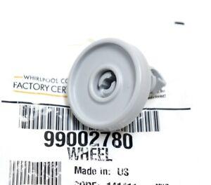 Maytag Whirlpool Dishwasher Lower Rack Roller Wheels WP99002780