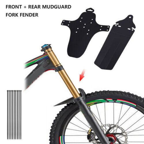 MTB Bike Mudguards Mountain Bicycle Mudguard Cycling Road Tire Front Fender