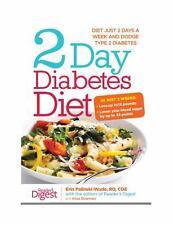 2 Day Diabetes Diet by Alisa Bowman, Erin Palinski, HC/DJ Orig. $24.99