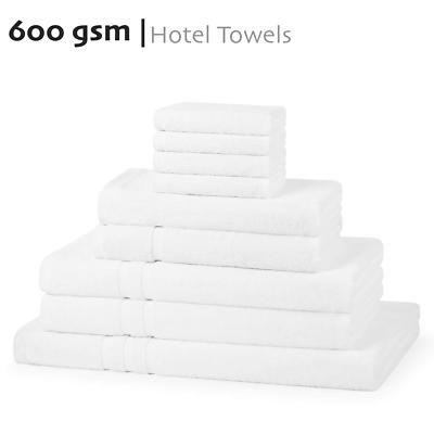 750 GSM Hotel Quality Towels Face Cloth Hand Bath /& Bath Sheets Soft Bale Set