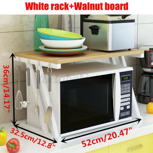 Microwave Oven Rack Stand Holder Shelf Kitchen Storage Cabinet Cart Workstation