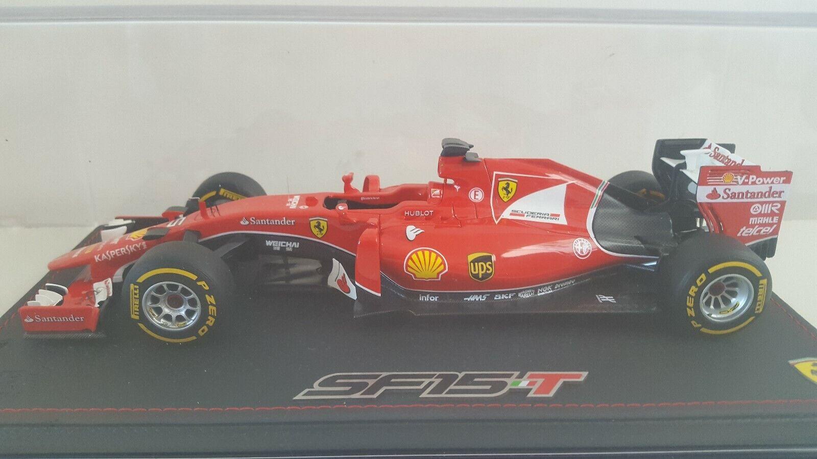 Ferrari SF15-T GP Singapore S Vettel Victory BBR Models die cast 1 18
