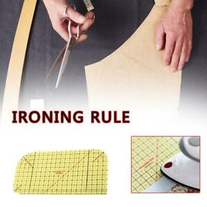 Hot-Ironing-Ruler-Patchwork-Tailor-Craft-Diy-Sewing-Supplies-Measuring-Tool-RR