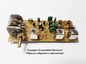 Details about Simple 3-band Ham radio receiver direct conversion  7,14,21MHZ  new PCB! KIT DiY