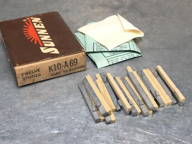 Sunnen Honing Stones L12-A65 NOS Aluminum Oxide 280 Grit