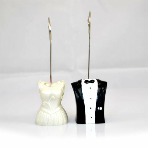 Wedding Name Table Number Place Card Holder Stand Mr and Mrs Party Decorations