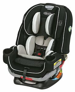 Graco Baby 4Ever Extend2Fit All-in-1 Convertible Car Seat Infant Booster Clove