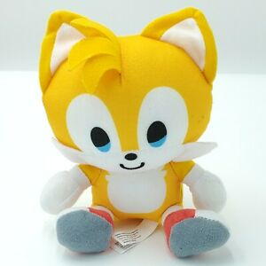 Sonic The Hedgehog Plush Toy Factory Tails 6 Inches Authentic Stuff Toy Ebay