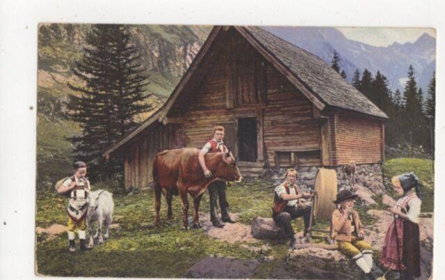Appenzeller Sennhuette 1913 Postcard Switzerland 390a