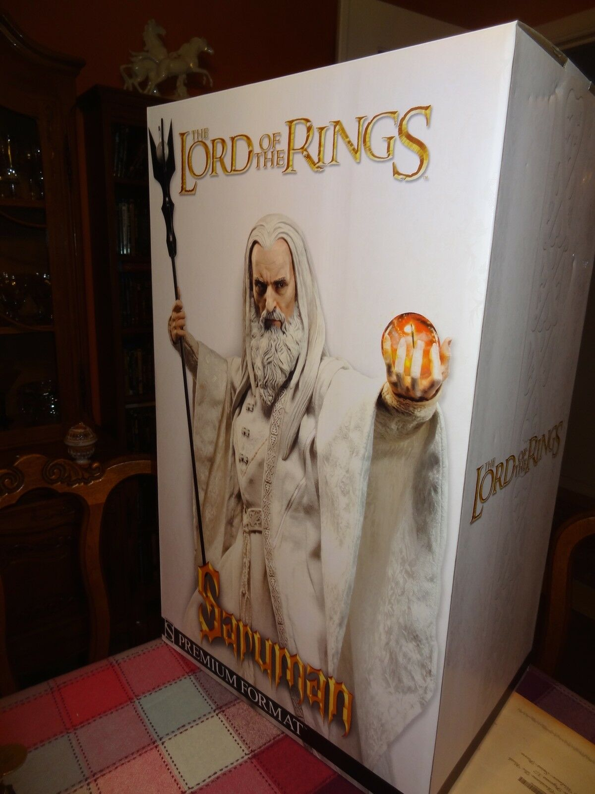 1 4 Sideshow Sideshow Sideshow Premium Format Saruman Lord of the Rings Christopher Lee LOTR NEW e36f62