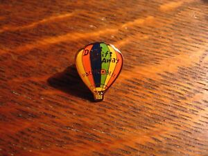 Pacific-Bell-Telephone-Lapel-Pin-Vintage-Hot-Air-Balloon-compagnie-telephonique-badge