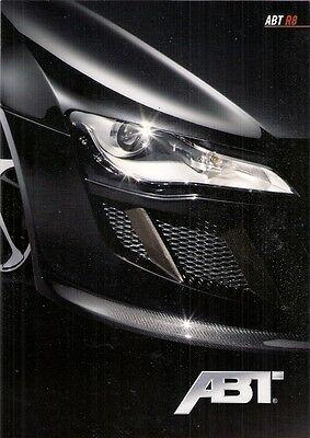 Audi R8 Abt Tuning Accessories 2009 German Market Foldout Sales Brochure Ebay