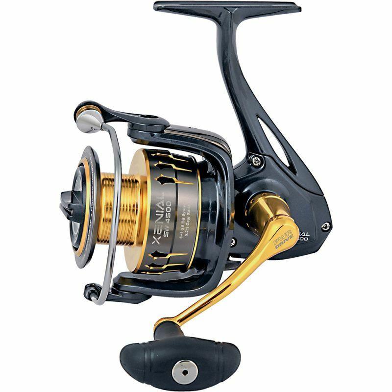 Trabucco Mulinello Xenial SW pesca mare Spinning bolo bolentino 7bb inox RNG