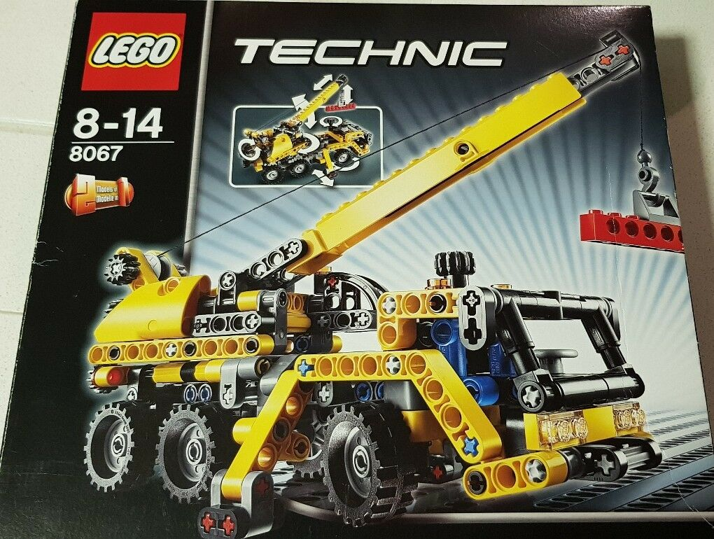 LEGO Technic 8067 - Mini Mobile Crane