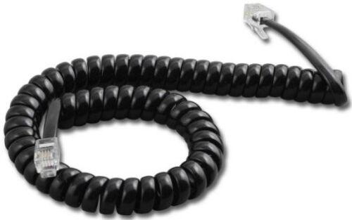 Mitel superconjunto Ip Inter-Tel Axxess 9/' Ft Teléfono Cable de auricular Negro Nuevo todos los teléfonos