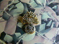 Royal Regiment Of Fusiliers Enamel Lapel Badge Version 1 RRF